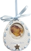 2014 Baby BOY'S First Christmas, Bib - Carlton Ornament Hallmark Christmas Ornament