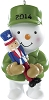 2014 U.S. Armed Forces - Carlton Ornament Hallmark Christmas Ornament