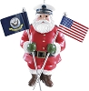 2014 Navy - Carlton Ornament Hallmark Christmas Ornament