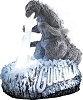 2014 Godzilla - Carlton MAGIC Ornament - SDBHallmark Christmas Ornament