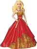 2014 Barbie - Holiday Barbie by Carlton COLLECTORS VERSION #2 in seriesHallmark Christmas Ornament