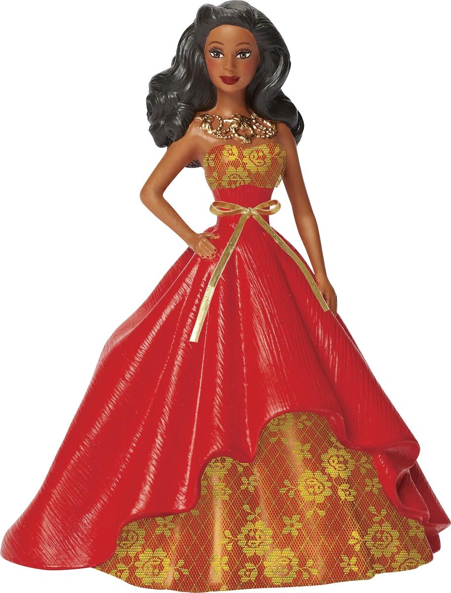 2014 Holiday Barbie African American Ornament   Carlton ...