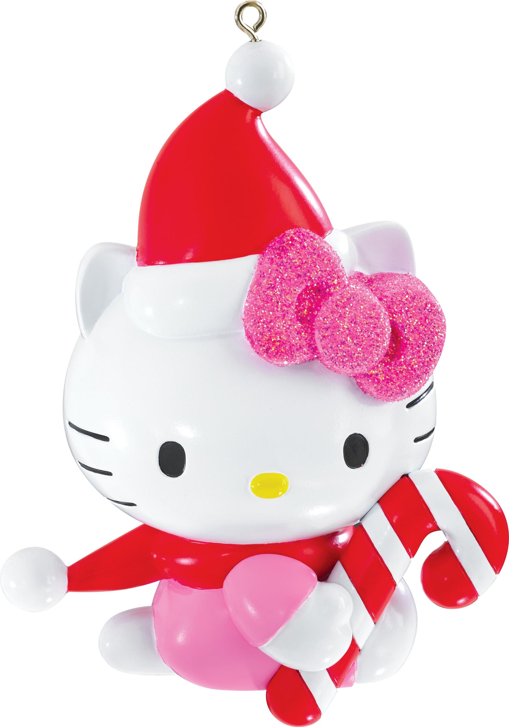 2015 Hello Kitty Christmas Ornament  Carlton Heirloom Ornaments