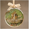 Rabbit Glass Ornament