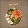 Poinsettia Mini Plate  - Natures JourneyHallmark Christmas Ornament