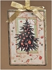 Christmas Tree Canvas Ornament