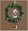 Snowman Wreath Ornament - RETIRED