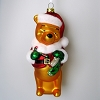 Disney Winnie the Pooh Glass Ornament