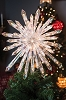 2018 Crystal Tree Topper 50 LED Lights , 13.5