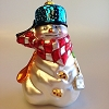 Snowmen of Mitford - Blown Glass - Kitchen Snowman