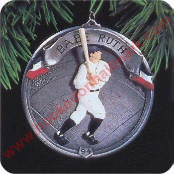 Baseball Heroes Hallmark Christmas Ornaments