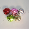 Jingle Bell Ornaments, set of 5