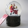 Up on the Housetop Snow GlobeHallmark Christmas Ornament