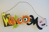 Halloween, Wooden Lighted Sign - WELCOME