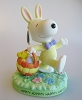 Hippity Hoppity Happy Easter - Peanuts Gallery Figurine