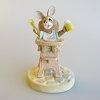 Bunny in High Chair - Tender Touches Figurine