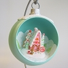 2013 Miniature Worlds - CANDY-COATED CHRISTMAS w/Stand