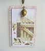 Gate Chipboard Ornament - Marjolein Bastin - Nature's Journey