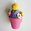Chick Bucket OrnamentHallmark Christmas Ornament