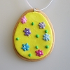 Easter Egg Ornament, YellowHallmark Christmas Ornament