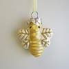 Spring Bumblebee Ornament, GlassHallmark Christmas Ornament