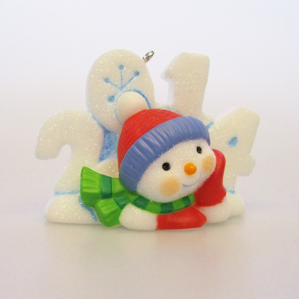 2014 frosty fun decade hallmark keepsake ornament