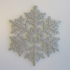 Silver Snowflake Ornaments, set of 15Hallmark Christmas Ornament