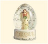 2007 Joy to the World Snow Globe Hallmark Christmas Ornament