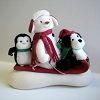 2007 Snow What Fun Sledders - Plush Tabletopper