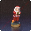 1976 Santa - Merry MiniatureHallmark Christmas Ornament