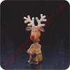 1974 Reindeer - Merry MiniatureHallmark Christmas Ornament