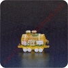 1988 Tank Car - Merry MiniatureHallmark Christmas Ornament