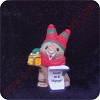 1989 Bunny Caroler - Merry MiniatureHallmark Christmas Ornament