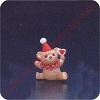 1987 Clown Teddy with Heart - Merry Miniature