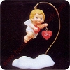 1983 Cupid - Merry Miniature - RARE no boxHallmark Christmas Ornament