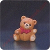 1987 Ginger Bear - Merry MiniatureHallmark Christmas Ornament