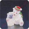 1987 Bear - Merry MiniatureHallmark Christmas Ornament