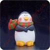 1986 Penguin - Merry MiniatureHallmark Christmas Ornament