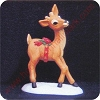 1980 Reindeer - Merry MiniatureHallmark Christmas Ornament