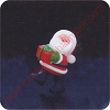 1980 Santa - Merry MiniatureHallmark Christmas Ornament