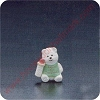 1990 Babys First Christmas Polar Bear - Merry Miniature