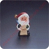 1991 Jingle Bell Santa - Merry MiniatureHallmark Christmas Ornament