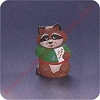 1991 Teacher Raccoon - Merry Miniature