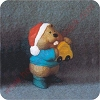 1995 Toymaker Beaver - Merry MiniatureHallmark Christmas Ornament