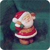 1995 Santa - Merry MiniatureHallmark Christmas Ornament