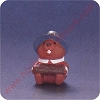 1992 Pilgrim Beaver - Merry MiniatureHallmark Christmas Ornament