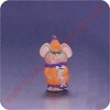 1992 Mouse - Merry MiniatureHallmark Christmas Ornament