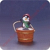 1992 Penguin - Merry MiniatureHallmark Christmas Ornament