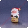 1992 Jingle Bell Santa - Merry MiniatureHallmark Christmas Ornament