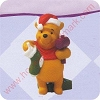 1999 Winnie the Pooh - Merry Miniature Hallmark Christmas Ornament